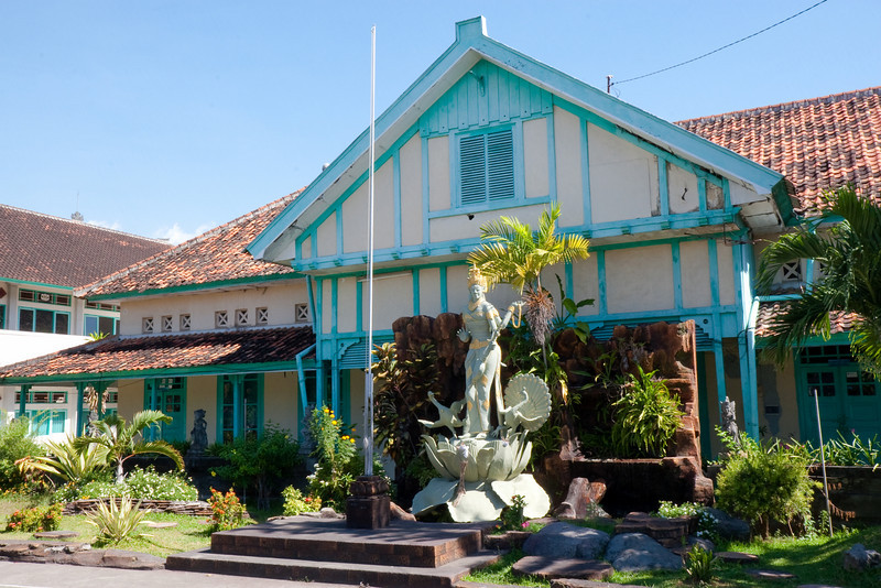 Dutch colonial buildings, Jl.Imam Bonjol, Singaraja
