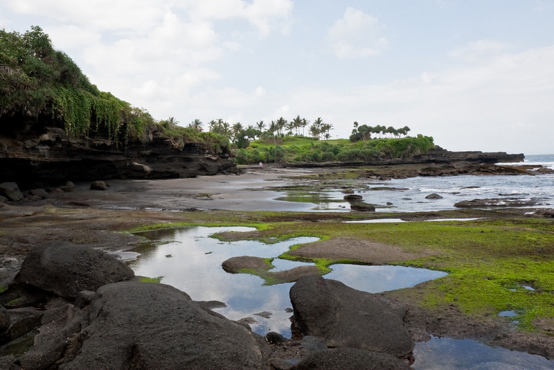 shore near Tanah Lot, Bali