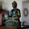 18th Century bronze Buddha from Surabaya.