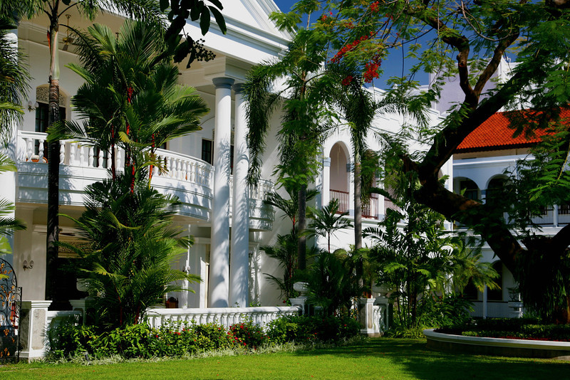 Majapahit Hotel, in Surabaya, built in 1910 by the Sarkies brothers.
