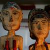 "Javanese loro blonyo, or ""inseparable couple,"" Yogyakarta."