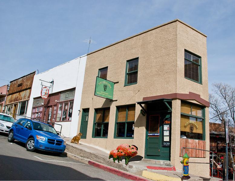 Javelinas at Flatiron Cafe in Jerome, AZ