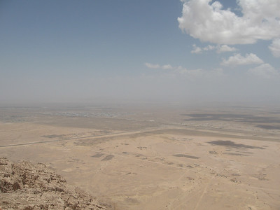 From the top of Jebel Hafeet.