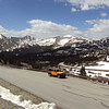 Hwy 306 approaching Cottonwood Pass, elev 12k
