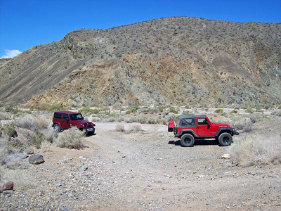 Jeep Trip to Goler Gulch, 26 May 2012