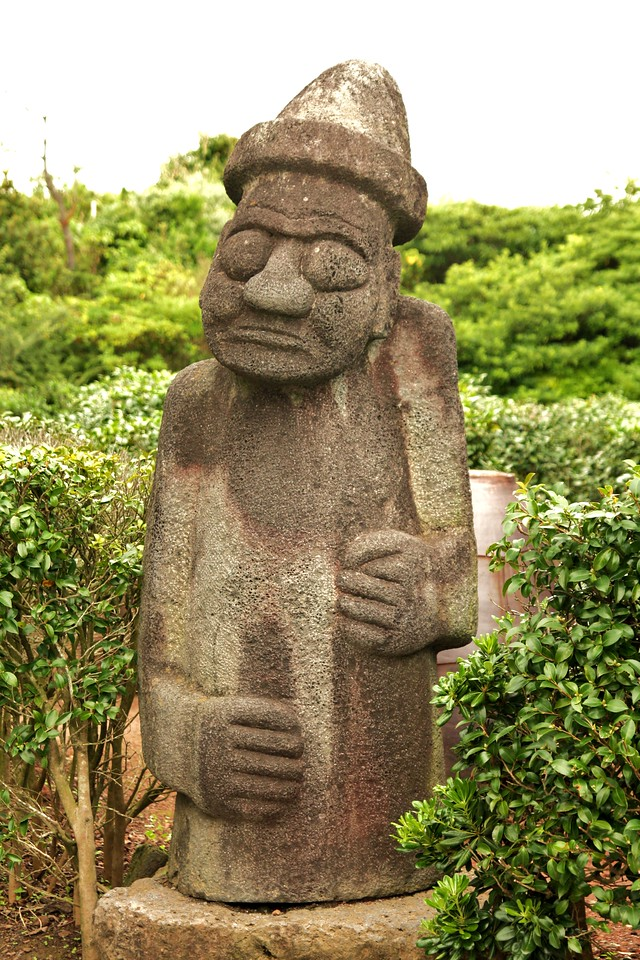 This guy is all over Jeju Island. I heart him.