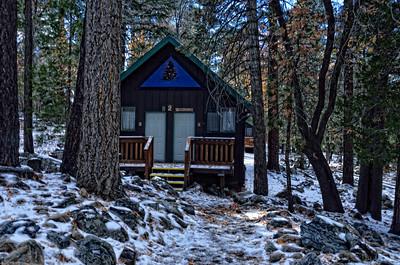Camp de Benneville Pines, Angelus Oaks