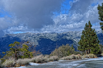 En route to Jenks Lake Angelus Oaks San Bernadino Mountains