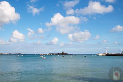 St Aubins Bay - Jersey Island