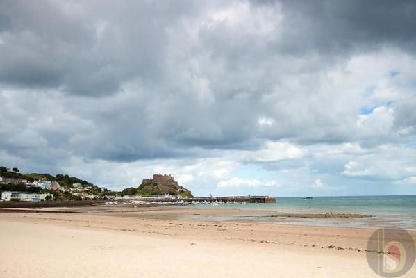 Gorey Castle  St Helier Bay - Jersey Island