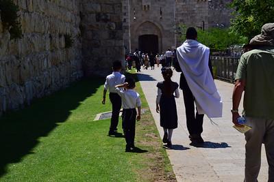on the way to prayer