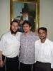 Chabad in Mumbai, Hodu<br /> Rabbi Gavriel Holtzberg, Doron Ben Avraham, Benjamin Dandekar (Hazzan)