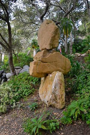 Jim Neeham's Gravity Rock Garden in Carmel Highlands