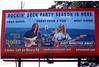 Penn's Peak Billboard in Jim Thorpe, PA featuring CTB. This pic was sent to the band by Susie Meckus. Thanks Susie... I supplied the three photos of the musicians... See  Roadie's Deck Party w Craig Thatcher Band @ Penn's Peak... also Craig Thatcher Band at Penn's Peak, and Craig Thatcher & Friends @ Mauch Chunk Opera House.