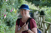 Joan Perry - Hadrian's Wall Hike, coast to coast England