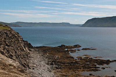 Looking towards Woody Point