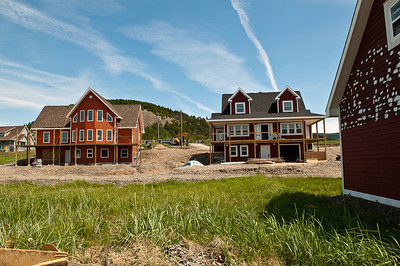 Fred and Boyd's new houses, Norris Point
