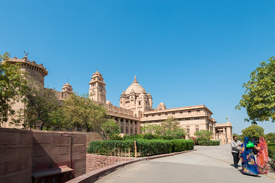 Umaid Bhawan Palace (Chittar Palace) was built in November 1929 by Maharaja Umaid Singh and the construction work was completed in 1943. The Palace was built to provide employment to thousands of people during the time of famine.