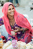 Women selling bangles at Ghantaghar market, Jodhpur, Rajasthan, India.