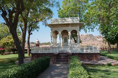 Jaswant Thada, Jodhpur, Rajasthan, Western India.