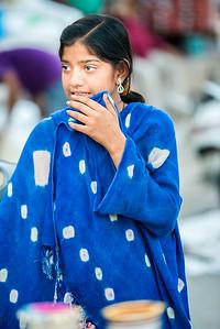 Street portraits at Ghantaghar market, Jodhpur, Rajasthan, India.