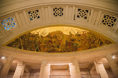 Umaid Bhawan Palace Museum ceiling. Built by Maharaja Umaid Singh, construction  was completed in 1943.