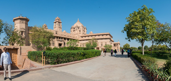 Umaid Bhawan Palace was called Chittar Palace during its construction due to use of stones drawn from the Chittar hill where it is located. Ground for the foundations of the building was broken on 18 November 1929 by Maharaja Umaid Singh and the construction work was completed in 1943. The Palace was built to provide employment to thousands of people during the time of famine.