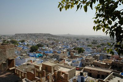 "View of ""blue city"" - Jodhpur, Rajasthan, Western India."