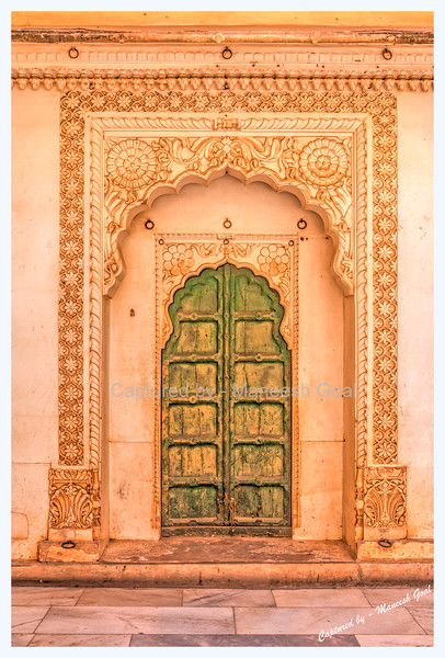 Band Darwaza | Mehrangarh Fort, Jodhpur (The Blue City)  - HDR Image