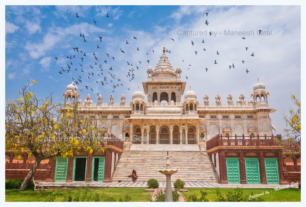 Jaswant Thada, Jodhpur (The Blue City)
