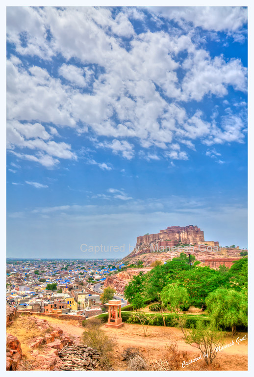 Mehrangarh Fort, Jodhpur (The Blue City)  - HDR Image