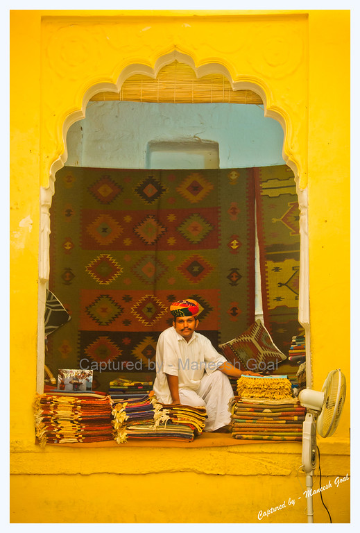 Handicraft Vendor | Mehrangarh Fort, Jodhpur (The Blue City)