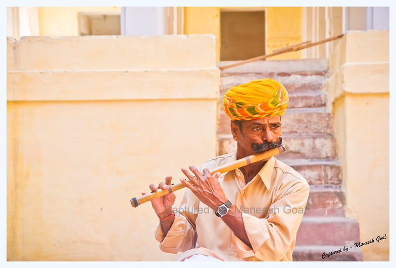Folk Artist | Mehrangarh Fort, Jodhpur (The Blue City)
