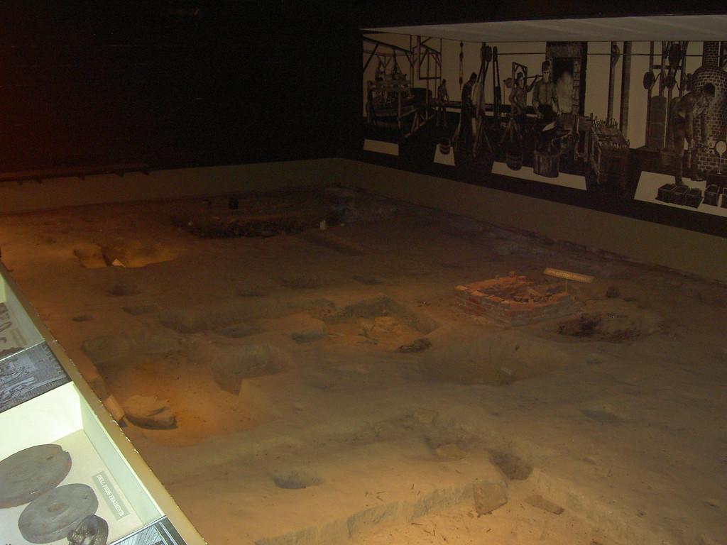 Excavation of the actual site of John Deere's shop.