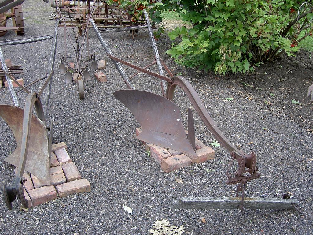 Early John Deere plows