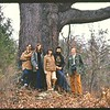December 1972 in Bedford Virginia at the David Cassell farm.  Under the Cassell Great Oak.<br /> <br /> David Cassell, John Stuart Mullins, Janie Mullins, Anne Webster & Sneed Adams.