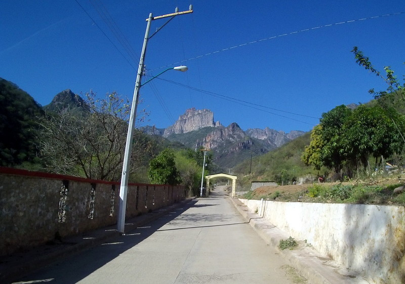 The view from Urique