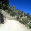 Canyon del Cobre road
