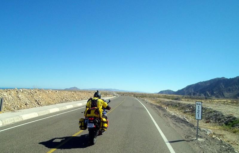 On the road to Bahia Gonzaga