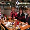 Enjoying lunch at Anna Maria Oyster Bar