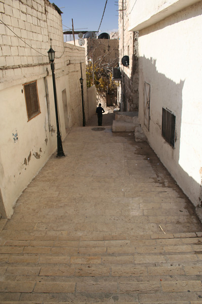 Steps on the hills of Amman.