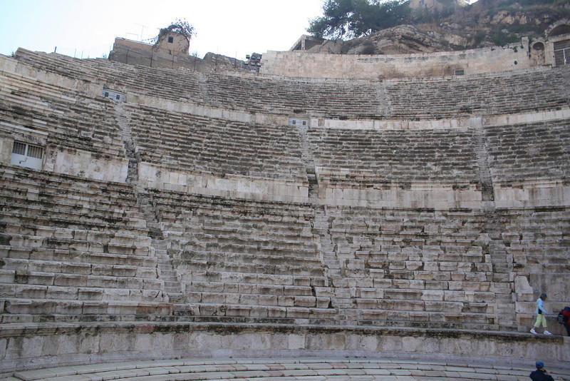 Looking to the left from the entrance to the Roman Theater