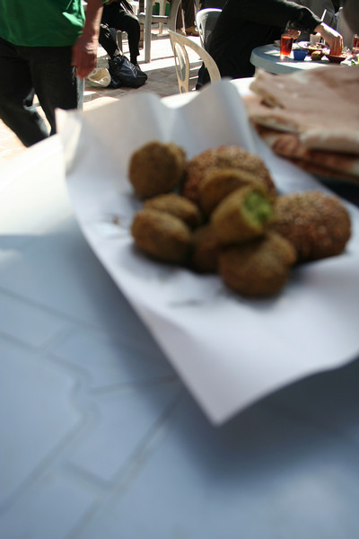 Felafel at Hashem restaurant