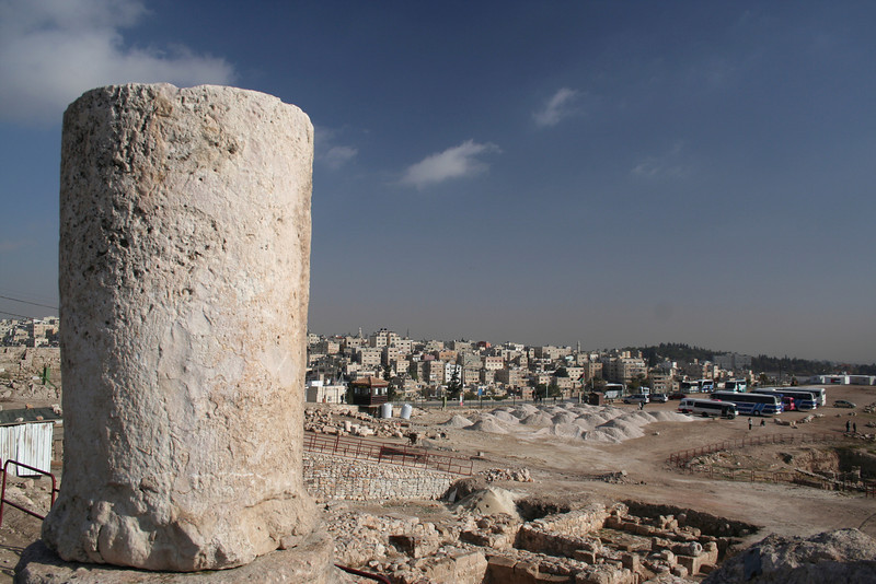 View of Amman from the Citadel lookout point