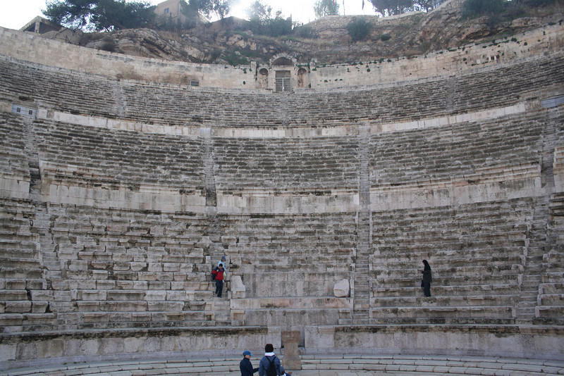 Roman Theater from below (at the entrance)