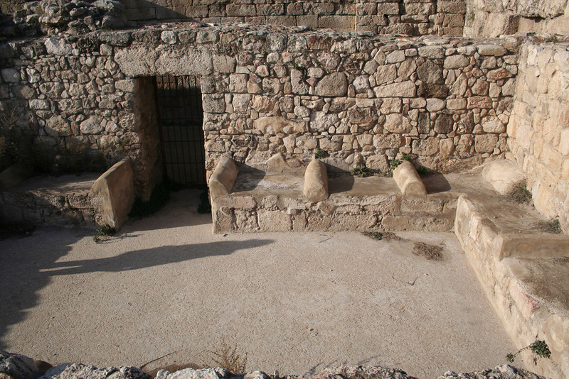 The hammam at the Citadel