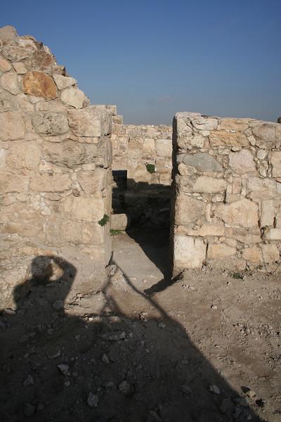 Entrance to the Hamman at the citadel