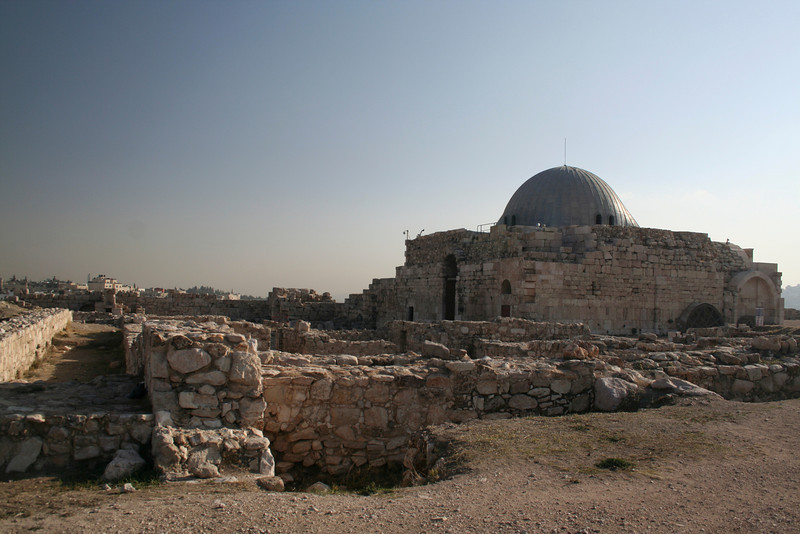 The audience hall: Its shaped like a cross because it was built on the top of a Byzantine church