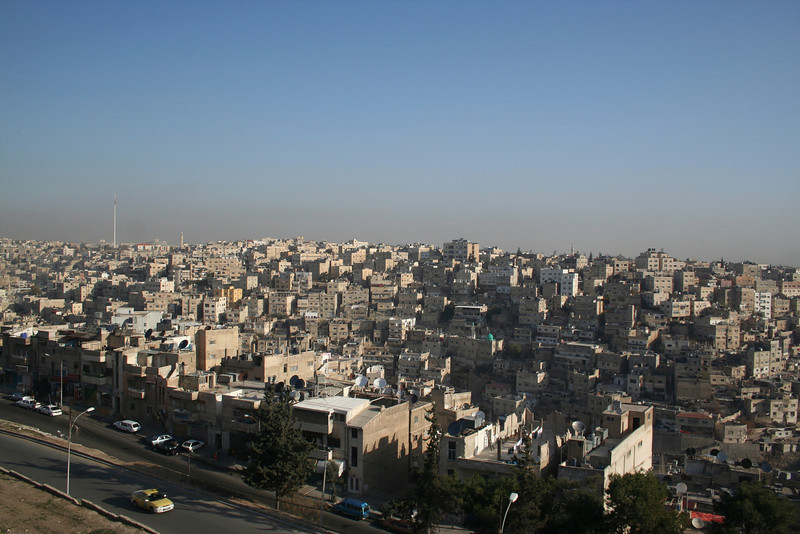 View of Amman from the Citadel