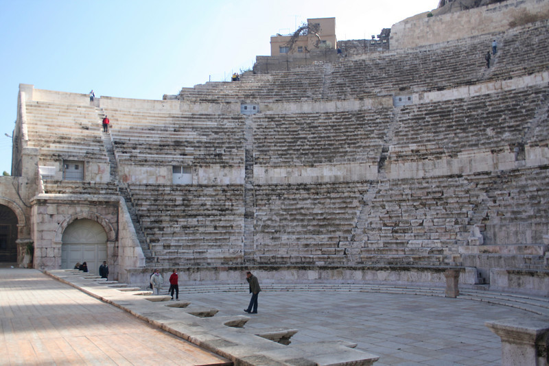 View of the Roman Theater from below